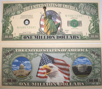 Liberty One Million Dollar Bill