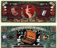 Cigar Aficionado Twelve Dollar Bill