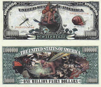 Fairies One Million Dollar Bill