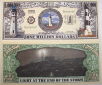 Lighthouse One Million Dollar Bill
