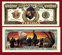 Viking Million Dollar Bill