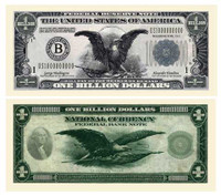CLASSIC BILLION DOLLAR BILL