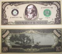 James Madison One Million Dollar Bill
