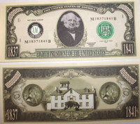 Martin Van Buren One Million Dollar Bill