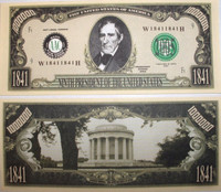President William Henry Harrison Million Dollar Bill