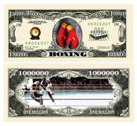 Boxing Million Dollar Bill