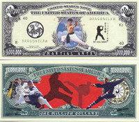 Martial Arts One Million Dollar Bill