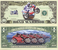 Motorcross One Million Dollar Bill