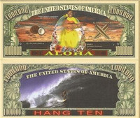 "Aloha ""Hawaiian"" Novelty Bill"