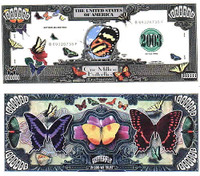 Butterfly One Million Dollar Bill