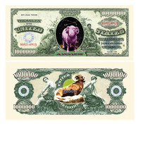 Aries Zodiac One Million Dollar Bill