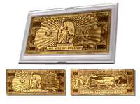 The Original 24k  Gold Million Dollar Bill-Layered in 24 Karat Gold – Graded 999.9 Pure