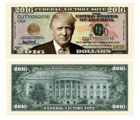 TRUMP BILLS-SHOWCASE OF ALL DONALD TRUMP NOVELTY BILLS