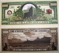 Howling Wolf One Million Dollar Bill