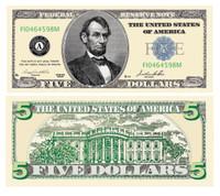 Five Dollar Bill Casino and Poker Night Money