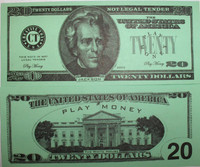Twenty Dollar Bill Casino and Poker Night Money-PM