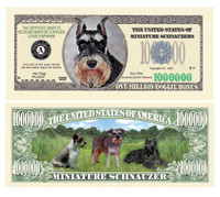 MINI SCHNAUZER MILLION DOLLAR BILL
