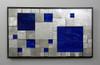 """""""Aluminio y Azul"""" - SOLD"""