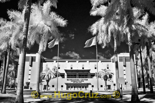 """BankUnited Center"" ● Infrared Photography"