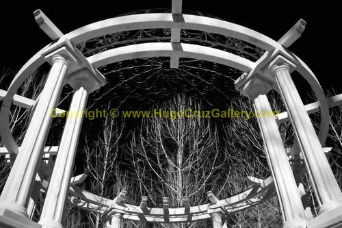 """Winter Gazebo"" • Infrared Photography"