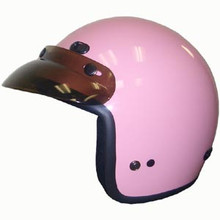 Pink Motorcycle Helmet