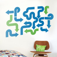 Urban Arrows Wall Decals