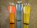 Low poundage cedar arrows for bows 30# and under