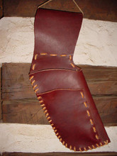 5/6 oz. leather side quiver