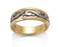 Womens Scroll Ring David Virtue Jewelry