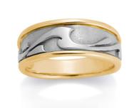 Womens Wave Ring David Virtue Jewelry