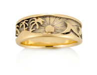 Womens Palms Wave Ring David Virtue Jewelry