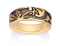 Womens Palm Sun Ring David Virtue Jewelry