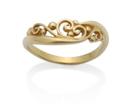 137A - Filigree Ring David Virtue Jewelry