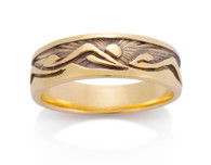 Womens Eastern Mountain Sun Ring David Virtue Jewelry