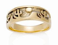 Mens Desert Sun Ring David Virtue Jewelry