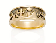 Womens Desert Sun Ring David Virtue Jewelry