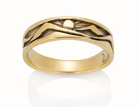 Womens Narrow Mountain Ring David Virtue Jewelry