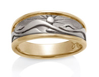 Mens Eastern Mountain Ring David Virtue Jewelry