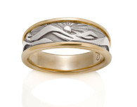 Womens Eastern Mountain Ring David Virtue Jewelry
