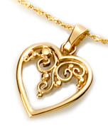 Classic Heart Pendant David Virtue Jewelry