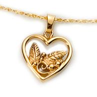 Heart Garden Pendant David Virtue Jewelry