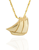 Schooner Pendant David Virtue Jewelry