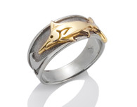 Womens Wave Marlin Ring David Virtue Jewelry