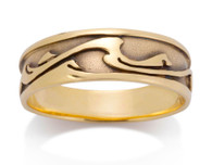 Mens Wave Ring David Virtue Jewelry