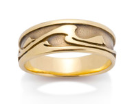 Womens Wave Ring David Virtue Jewelry