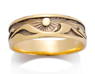 Mens Waters Edge Ring David Virtue Jewelry