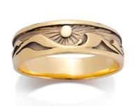 Mens Waters Edge Ring David Virtue Jewelry