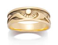 Womens Waters Edge Ring David Virtue Jewelry