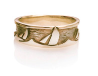 Womens Sails Sea Ring David Virtue Jewelry