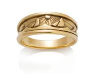 Womens Wide Sails Sun Sea Ring David Virtue Jewelry